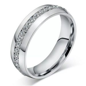 Other - Titanium Stainless Steel Ring/Band Size 8 Jewelry
